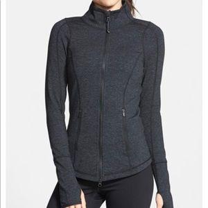 Zella 'Deja' cross due zip up jacket
